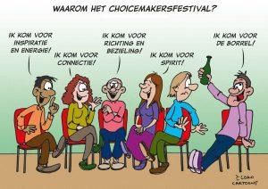 loko cartoon bezoekers CMF 2015